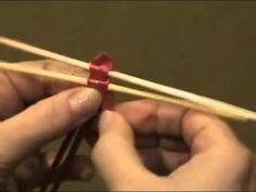 Плетение из соломы Веточка из 7 соломин.mp4 - YouTube