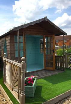 A huge range of garden sheds, timber summerhouses & playhouses, traditional & contemporary cabins plus greenhouses and timber outdoor buildings. Outdoor Buildings, Outdoor Structures, Shed Cabin, Contemporary Cabin, Eggshell, Play Houses, Sheds, Cabins, Gazebo