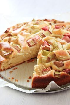 Yummy Food, Tasty, Apple Cake, Food Design, Waffles, Cake Recipes, Sweet Tooth, Food And Drink, Cooking Recipes
