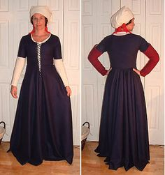 ARTICLE: Kirtles with a Waist Seam. Also making.