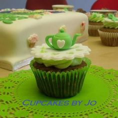 Teapot cupcakes made for the MacMillan Big Coffee Morning