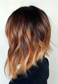 25 Trendy Hair Color Ideas for Medium Hairs 2018