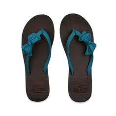 Hollister SoCal Flip Flop- I would go into Hollister to get these....if I could find them in the dark.  :/