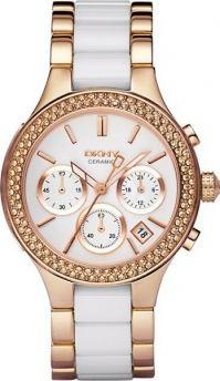 DKNY keraaminen Chronograph rannekello NY8183 / Rannekellot - Naisten kellot - DKNY / Keskisen Kello Oy - kello verkkokauppa