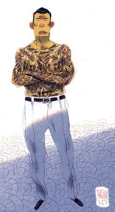 Yakuza II by ~MikkelSommer on deviantART