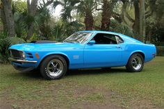 70 FORD MUSTANG BOSS 429 FASTBACK