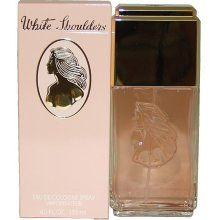White Shoulders perfume.....back in the day; this is what my mom wore. Me? Don't like it one bit.