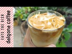 DALGONA COFFEE CRAZE | HOW TO MAKE DALGONA COFFEE AT HOME | EATS THE DISH - YouTube The Dish, Make It Yourself, Dishes, Coffee, Eat, Youtube, Desserts, How To Make, Food