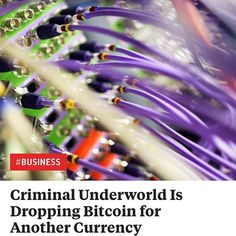 The Criminal Underworld Is Dropping Bitcoin for Another Currency https://greenground.it/2018/01/02/the-criminal-underworld-is-dropping-bitcoin-for-another-currency/?utm_campaign=crowdfire&utm_content=crowdfire&utm_medium=social&utm_source=pinterest  #bitcoin #cryptocurrency #ethereum #money #blockchain #crypto #btc #litecoin #entrepreneur #ripple #investment #forex #business #trader #trading #wealth #bitcoins #invest #coinbase #2018 #mining #success #investing #wallstreet #currency…