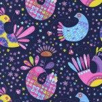Nap Mat - Monogrammed Feathered Flock Birds Nap Mat with Hot Pink Double-sided Minky or Minky Dot Blanket by PreciousnProsper on Etsy