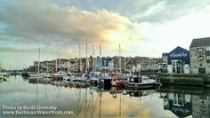 The historic harbour, Barbican Plymouth