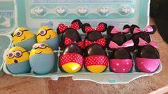 Easter eggs minion &  mini mouse