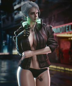 Share & Like for more gaming photos Cyberpunk Kunst, Cyberpunk 2020, Cyberpunk Girl, Cyberpunk Fashion, Fantasy Women, Fantasy Girl, Dark Fantasy, Witcher Art, The Witcher