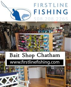 Cape Cod Daily Deal with Firstline Fishing in Chatham. The guide staff is headed by long time fly fisher, Michael Mullaney. First Line Fishing is a top notch tackle shop located in the heart of some of the best fishy water on the Eastern Shore of the United States. http://www.capecoddailydeal.com/deals/view/Get-$40-to-spend-at-First-Line-Fishing,-Chatham%27s-newest-tackle-shop,-for-only-$20/2346/0