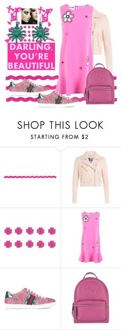 """sum#163"" by u-929 ❤ liked on Polyvore featuring Emilio Pucci, Moschino, shu uemura, Gucci and Chicnova Fashion"