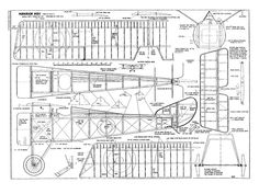 Balsa Model Airplane Plans Free Download