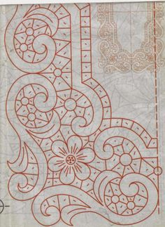 40 Tane Dantel Angles Desenleri - Gray Tutorial and Ideas Cutwork Embroidery, Hand Embroidery Flowers, Paper Embroidery, Hand Embroidery Patterns, Lace Patterns, Vintage Embroidery, Machine Embroidery, Quilt Patterns, Lace Tattoo Design