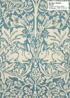 Historic Style - Brother Rabbit by William Morris