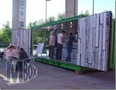 Shipping Container Homes: Mr Box Container Café, Milton ...