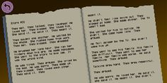 A short story to be found in the Thimbleweed Park game. Found it by chance in their devblog.