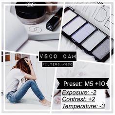 VSCO Cam Filter M5 +10 by filters.vsco