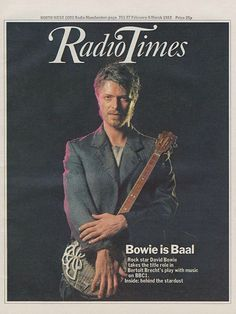 David Bowie in Baal