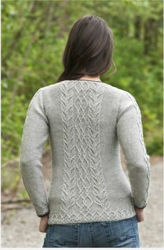 Cascade Yarn - Graceful Cable Tunic - DK