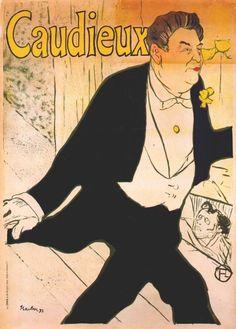 747b648395b Toulouse Lautrec Posters Caudieux 1893 Henri De Toulouse Lautrec