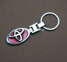 New For Toyota Car Logo Brand Keyring Keychain Key Chain Ring $4.98