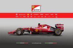 Ferrari Team F Image Wallpaper Wallpaper Themes