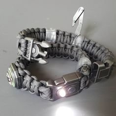 "USE CODE ""EQUIP2SURVIVE"" TO GET A FREE KEVLAR SAW!! The best paracord survival bracelets that we have ever seen! It's a personal survival kit built into a survival bracelet! Design your own! Options include buckles with integrated LED lights, fire steels and handcuff keys! These are incredibly designed!!! Check them out for yourself!!"