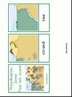 Woordkaarten Zomer - strand