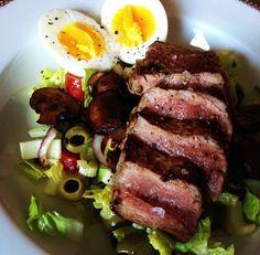 Chuck eye steak met rode chimichurri BBQ Experience Center
