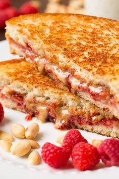 Grilling makes such an over-the-top PB&J and it just gives it that perfectly golden crispy crust with soft bread inside, and melty gooey jam and peanut butter too!!