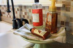 Did It Myself :: Dish Soap Cake Stand