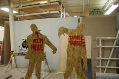 Zombie Shooting Targets on the Shopbot CNC Router - ReFab - ReFab