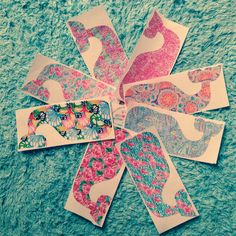 Lilly Pulitzer Inspired Whale Decal on Etsy, $9.00