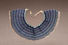 Neck piece Xhosa, Neck Piece, African Jewelry, African Design, Pattern Ideas, Beading Patterns, Beadwork, Egyptian, South Africa