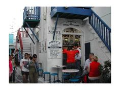 Jimmy's Gyro in Mykonos Greece. Best gyro ever. For sure.