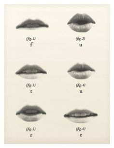 #thinkcolorfully charted lips