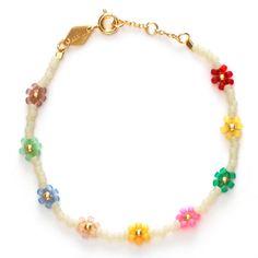 Anni Lu - Petals Bracelet Cornhusk Nail Jewelry, Cute Jewelry, Beaded Jewelry, Jewelery, Jewelry Accessories, Beaded Necklace, Beaded Bracelets, Homemade Jewelry, Picsart