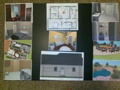 Piece Of Old Interior Design Project I Did In High School 2011 For FCCLA Star Events