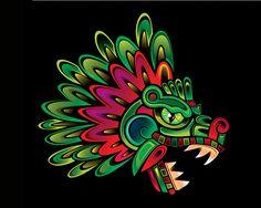 My Most Favorite Geometric Tattoo Mayan Tattoos, Aztec Culture, Mexico Culture, Aztec Art, Aztec Designs, Indigenous Art, Mexican Art, Native American Art, Art Plastique