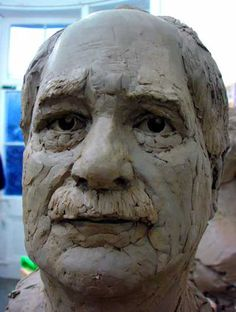 clay sculpture-awesome mask idea....