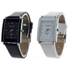 Watches women men clock Alipower Lover Leather Analog Sport Quartz Date Leather Wrist Watch Analog Gift relogio masculino