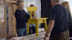 INDUSTRIELL – IKEA och Piet Hein Eek Single Chair, Ikea Chair, Desk, Furniture, Home Decor, Desktop, Decoration Home, Room Decor, Table Desk