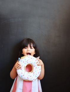 DIY Donut Pillows Step-by-Step Sewing Tutorial by little inspiration