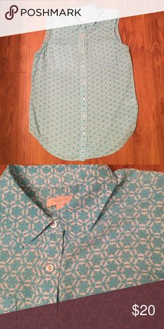 Talbots blouse Cute dragonfly detailing Talbots Tops Blouses