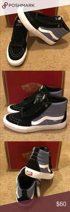 8cb0b54213 Black infinity Pro Vans New in box Vans Shoes Sneakers