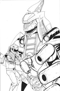 pirate power rangers coloring pages   Pirate Power Ranger Coloring Page for boys   Boys coloring ...